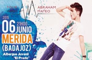 Concierto Abraham Mateo – Mérida