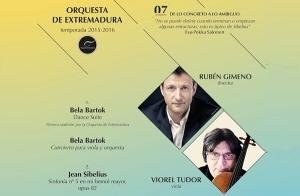 Concierto de la Orquesta de Extremadura.