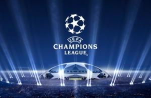 Champions Entrada FC Barcelona y AS Roma