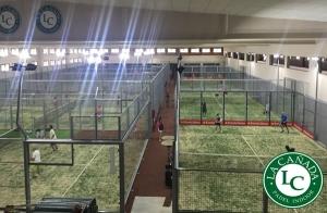 Alquila tu pista de padel Indoor en La Cañada