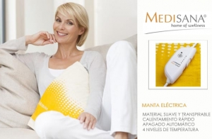 Manta eléctrica o Almohadilla eléctrica cervical-lumbar