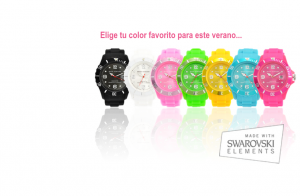 Reloj Musa Ventura made with Swarovski Elements por 19.99€