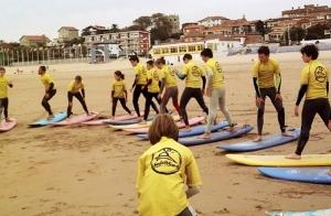 Curso de fin de semana de Surf en Suances