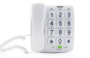 Teléfono con teclas grandes